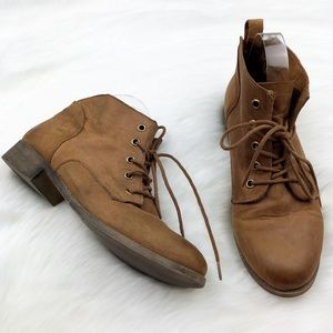 NEW Steve Madden Brown Rubin Leather Ankle Boots